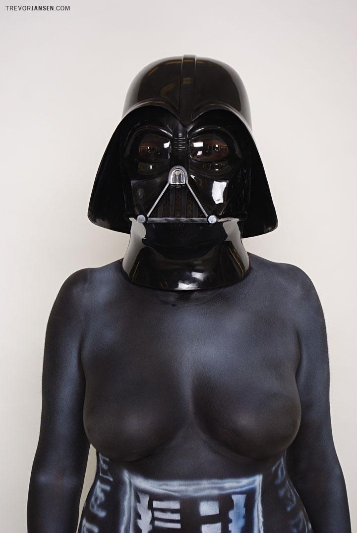 Creative Portrait | Boob Vader
