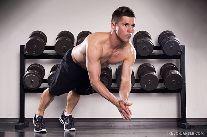West Coast Fitness trainer Timothy Simpson