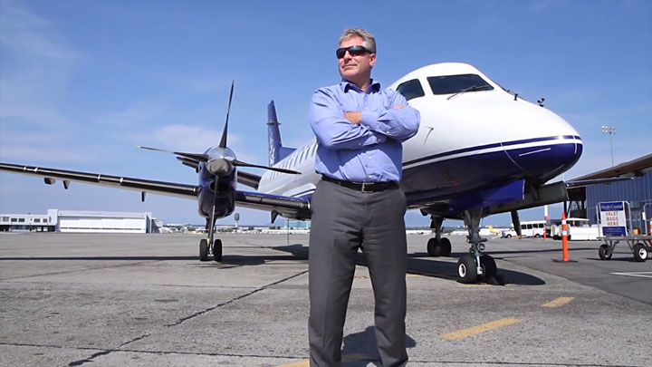 Quentin Smith, President of Pacific Coastal Airlines