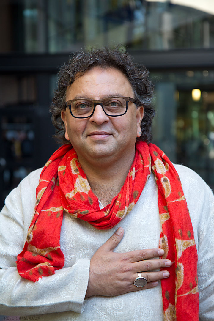 Vikram Vij, Top Chef and champion of Indian Cuisine