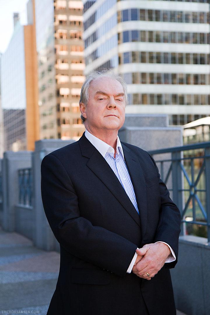 George Steeves, president of Sterling Cooper, Vancouver