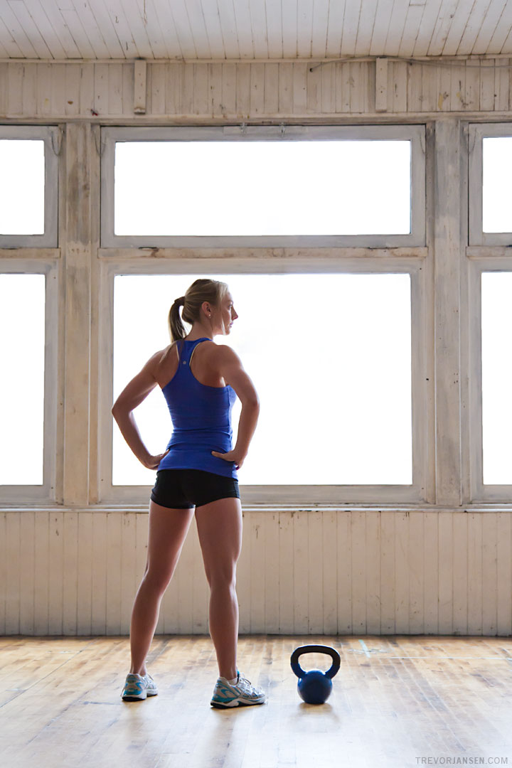 Fitness Trainer Tracey Boss, portrait