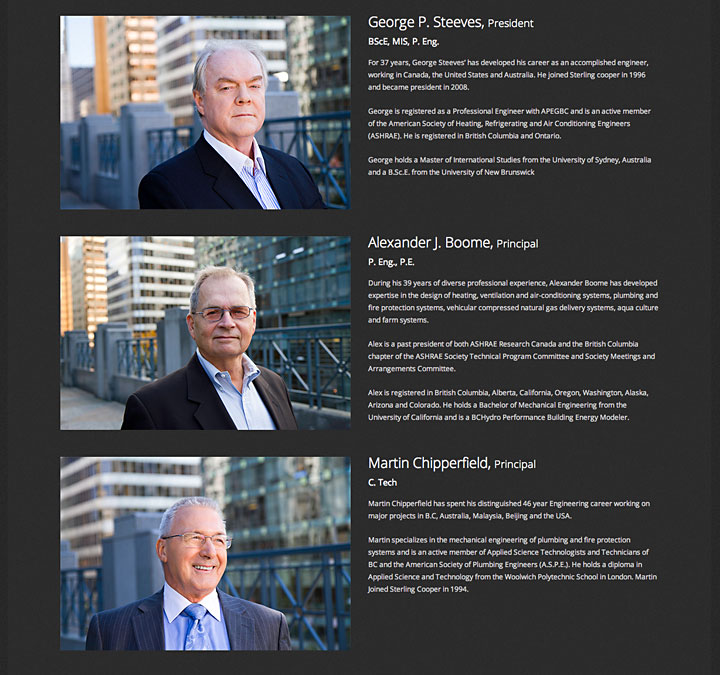 Sterling Cooper and Associates, Vancouver