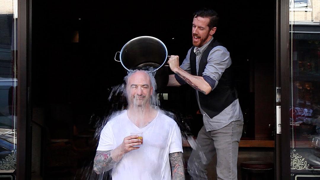als ice bucket challenge | Johnathon Vaughn-Strebly