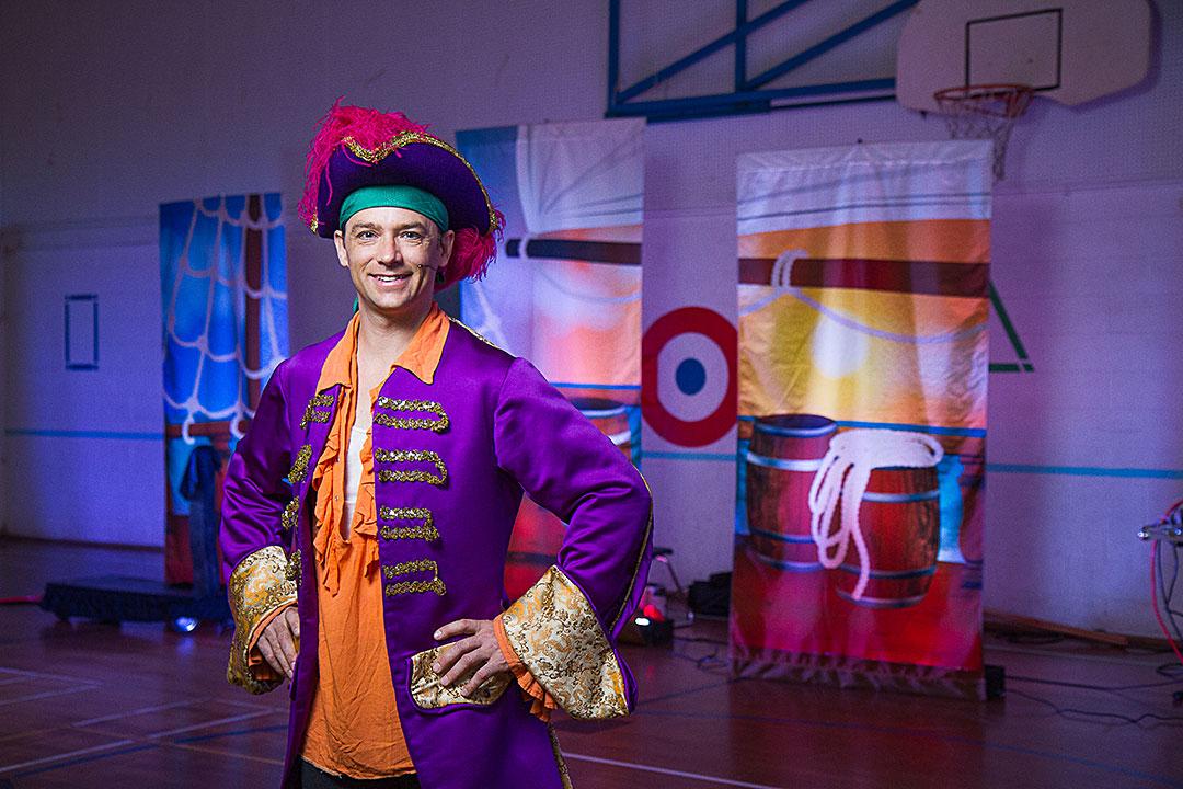 Dustin Anderson | The Purple Pirate