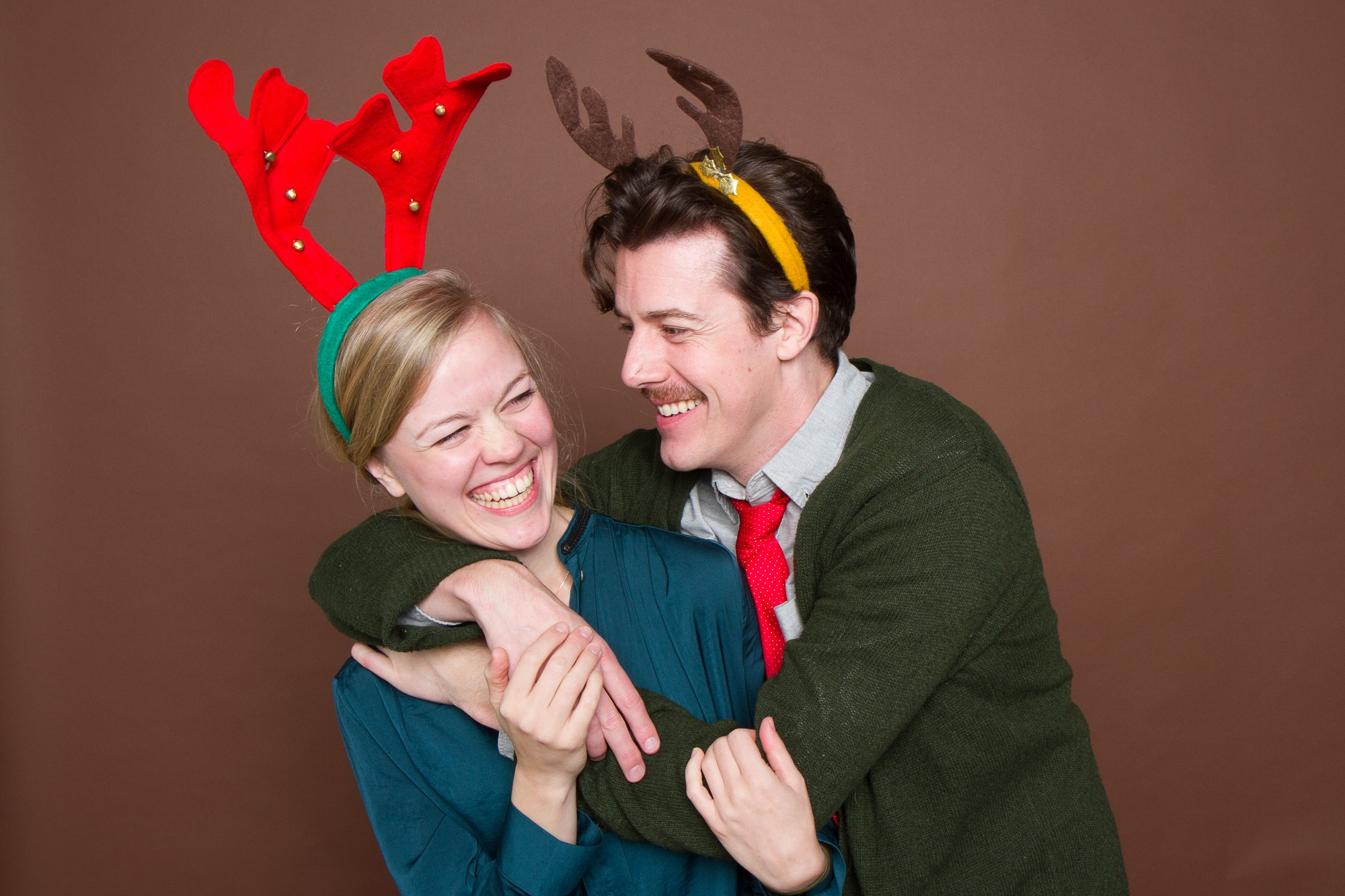 Christmas party portraits