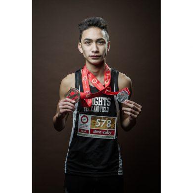 winning runner portrait | Vancouver BC
