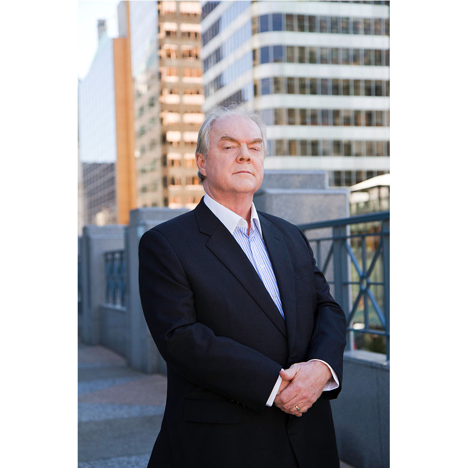 Architecture firm CEO portrait in downtown Vancouver