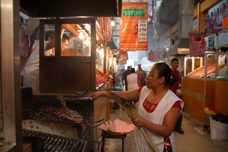 Oaxaca City, Mercado Juarez