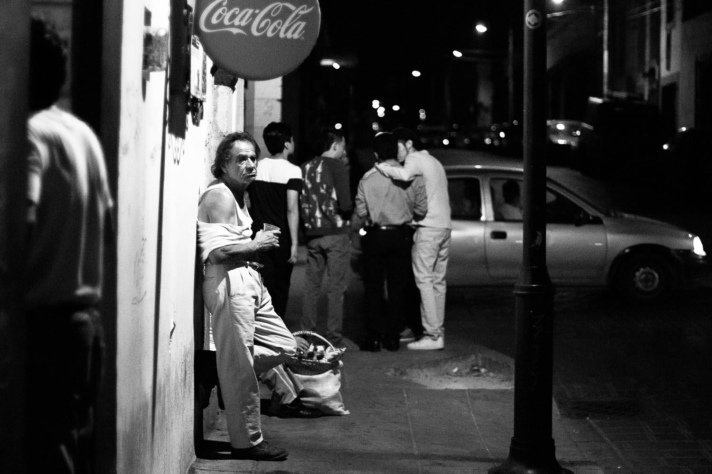 Oaxaca City, night life