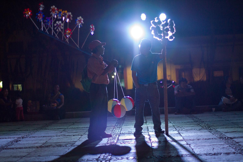 Oaxaca City, night vendors