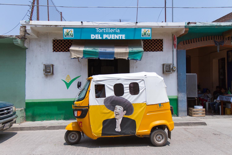 Oaxaca, Mexico, Tlacolula cab