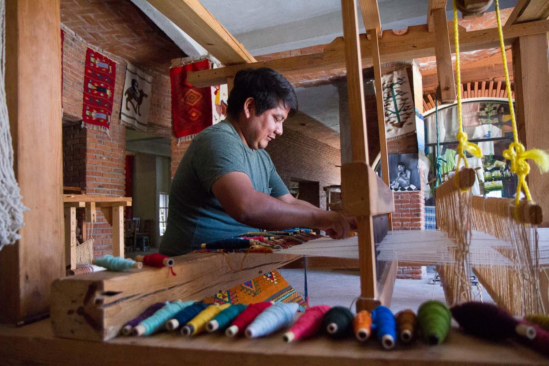 Oaxaca, Mexico, weaver