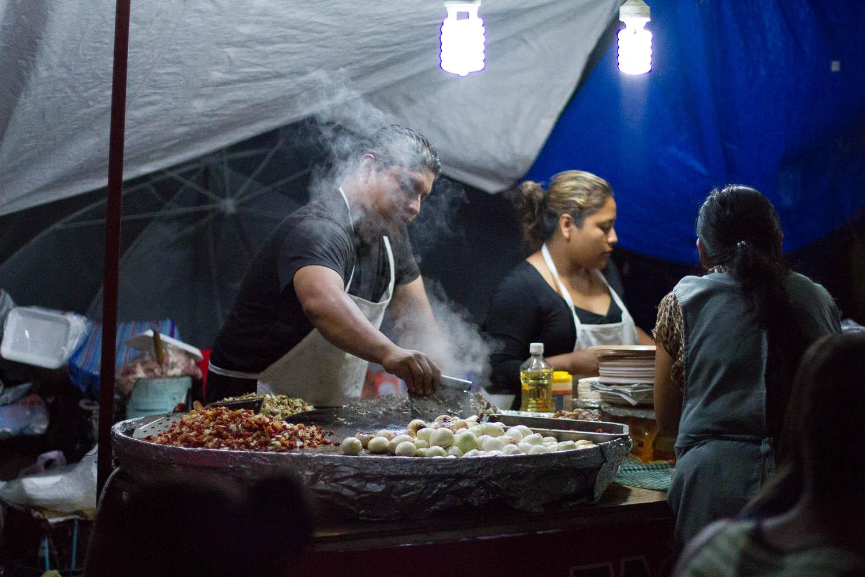 Oaxaca City, food vendor | travel photography