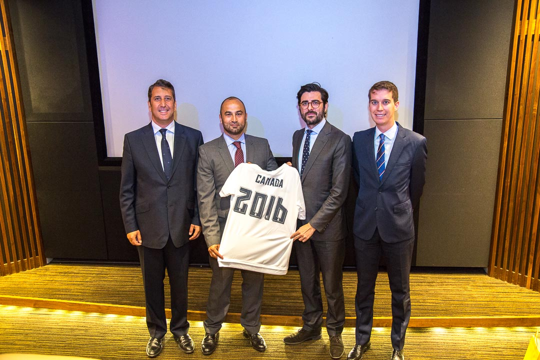 Real Madrid | PR event photography