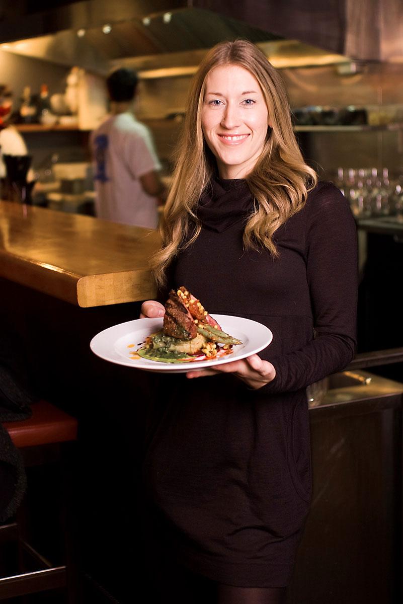 Restaurant editorial for the WestEnder