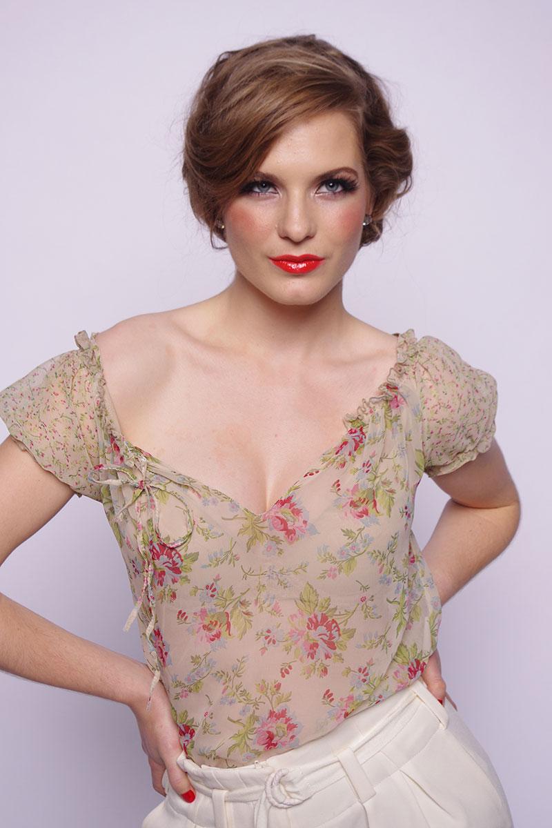 Fashion editorial for Blanche MacDonald