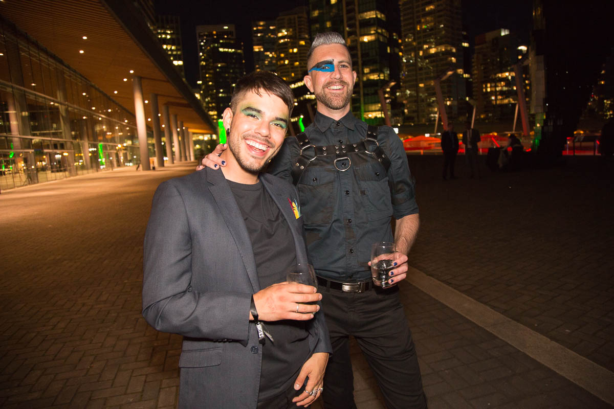 Glam party theme at the Vancouver Convention Centre