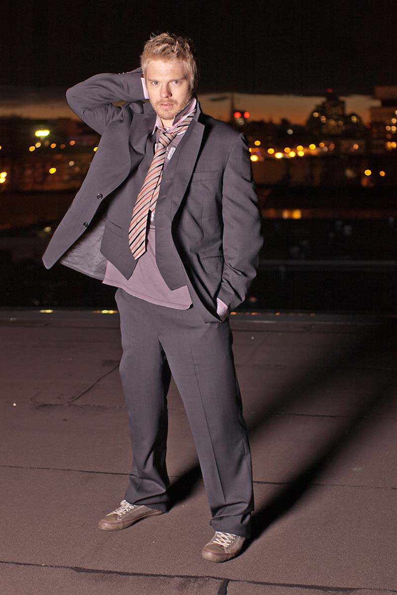 Magazine profile for David Paetkau