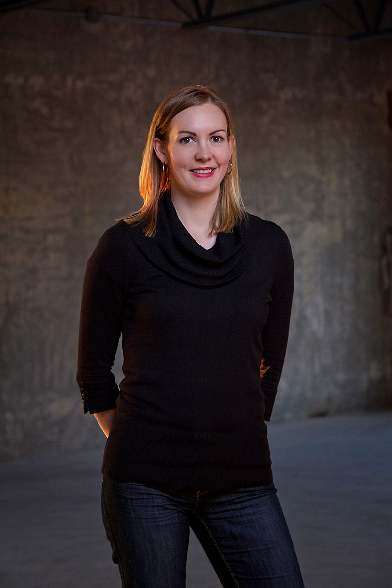 Business portrait of AXYS Technologies marketing director